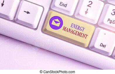 contrôler, photo, texte, énergie, projection, conceptuel, conserver, signe, usage., management., manière, poursuite