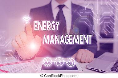 contrôler, texte, énergie, conserver, usage., concept, signification, management., manière, poursuite, écriture