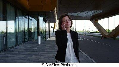 conversation, affaires femme, téléphone