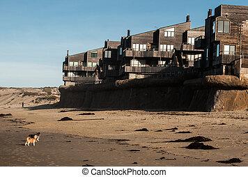 copropriétés, plage sable