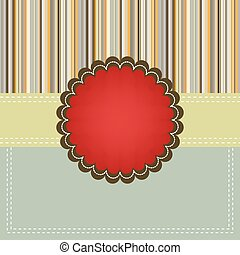 copyspace., eps, gabarit, 8, noël carte