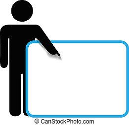 copyspace, figure, symbole, signe, personne, points, crosse, doigt