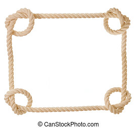corde, forme coeur, isolé