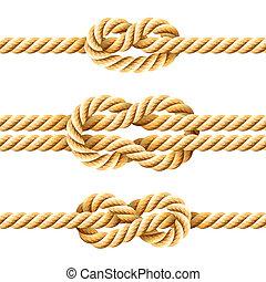 corde, nœuds