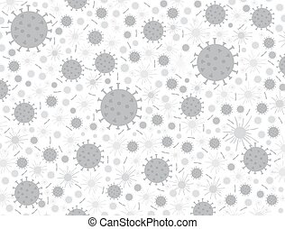 coronavirus, porcelaine