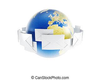 correspondance, mondiale