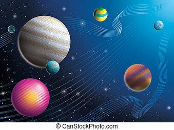 cosmos, imaginer