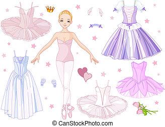 costumes, ballerine
