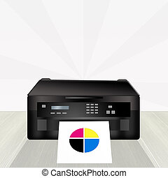 couleur épreuve, imprimante