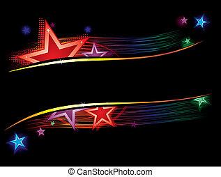 couleur, étoiles