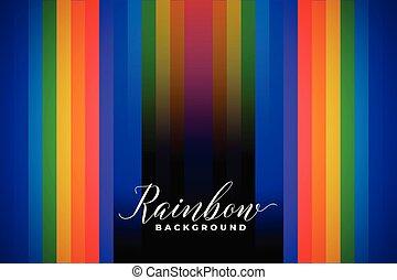 couleur, arc-en-ciel, résumé, lignes, fond