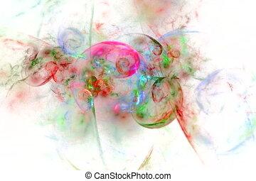 couleur, blanc, spirales