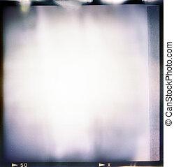 couleur, cadre, dur, fin, vide, pellicule, vendange, (6x6), lot, bande, résumé, voyante, fuites, format, effet, fond, exposition, espèce, dernière lumière, added;, remplissage, grain