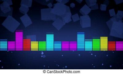 couleur, compensateur, résumé, musique