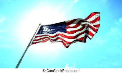couleur, drapeau, normal