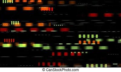 couleur, noir, boucle, jeûne, vitesse, carrés, seamless, fond
