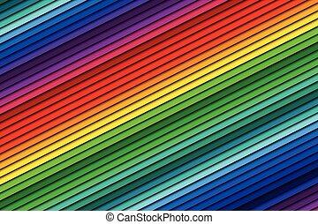 couleur, résumé, fond, ligne, oblique