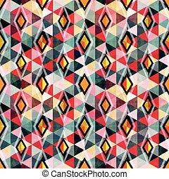 couleur, résumé, seamless, conception, fond, géométrique, ton