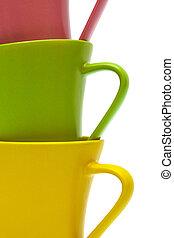 couleur, tasses