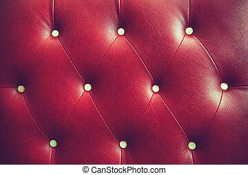 couleur, vendange, rouges, texture, buttoned