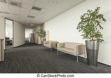 couloir, divan