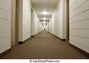 couloir, moderne