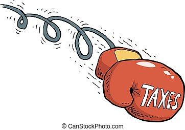 coup, impôt