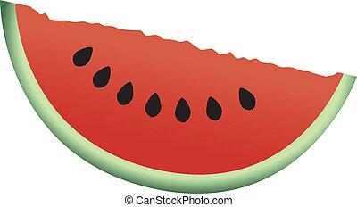 couper, pastèque