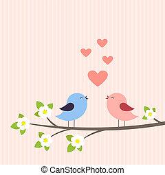 couple, aimer oiseaux
