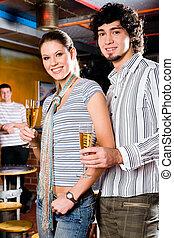 couple, barre