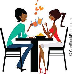 couple, boire