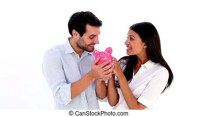 couple, jeune, séduisant
