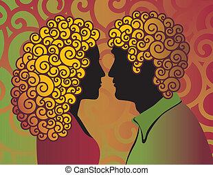 couple, mod