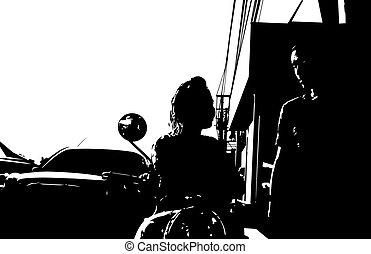 couple, rue