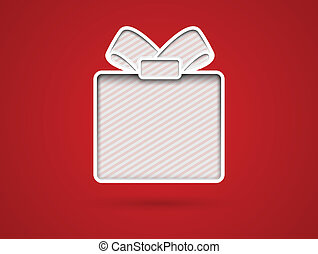 coupure, carte don, dehors