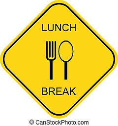 coupure, déjeuner