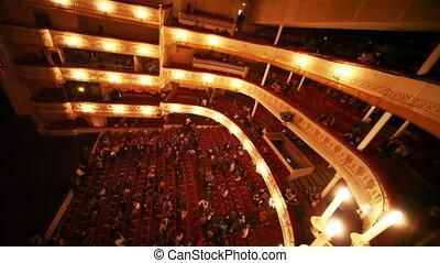 coupure, opérette, théâtre, gens