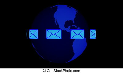 courrier, global