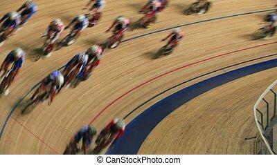 course, cyclisme