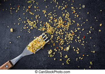 couscous, fourchette