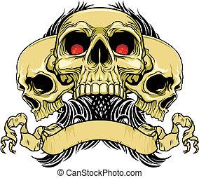 crânes, triple