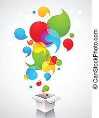 créatif, idées, cadeau, noël