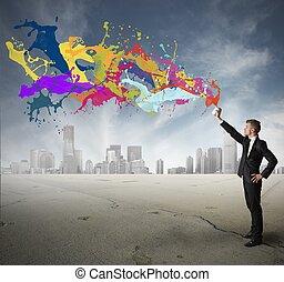 créativité, business