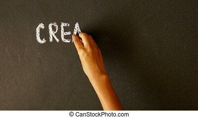 créativité, reussite, diligence