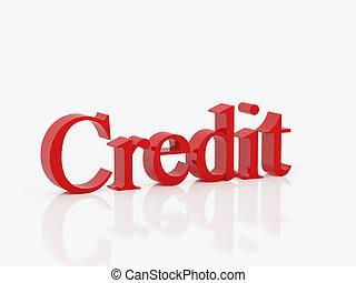 crédit