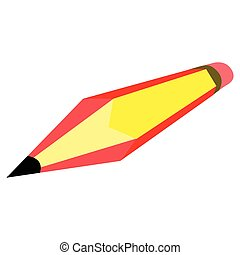 crayon, drapeau, espagne