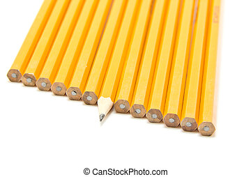 crayon pointu