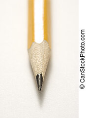 crayon pointu, tip.