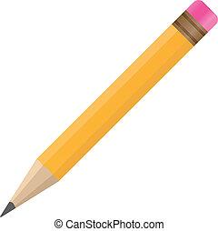 crayon, vecteur