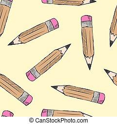 crayons, seamless